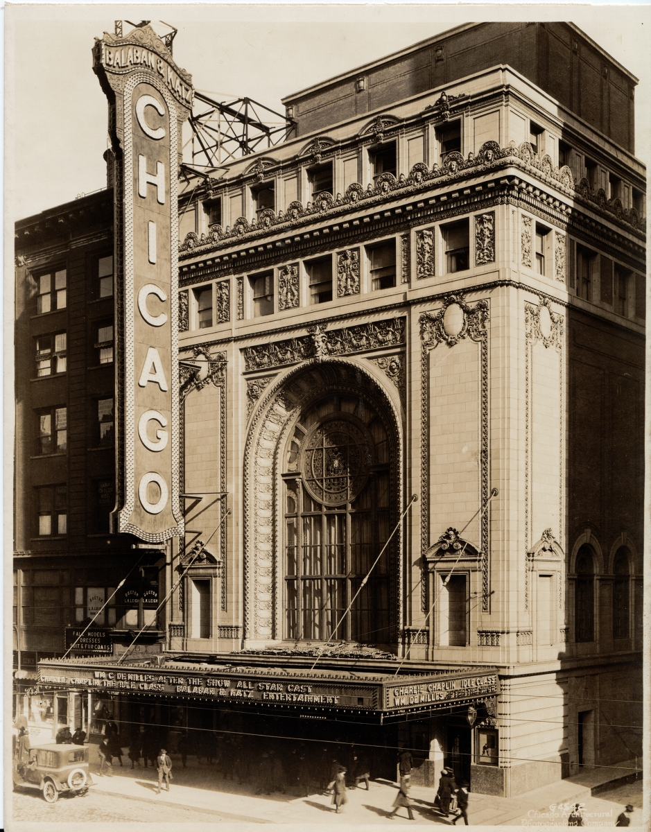 Rapp and Rapp Architects Chicago Theatre, Virburnum Press